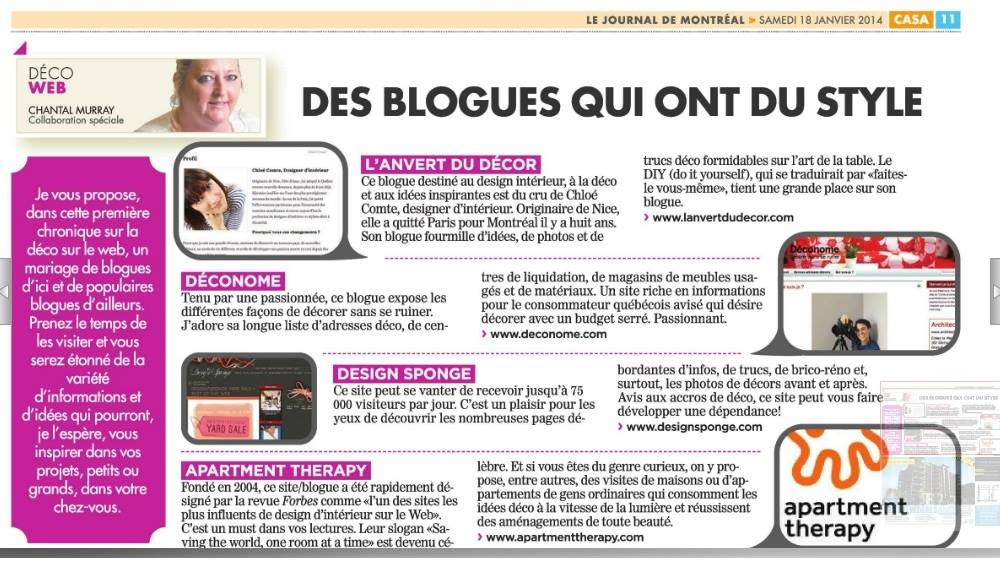 journal de Montréal deconome