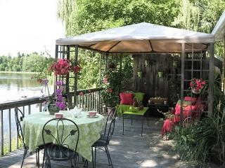 terrasse stylisme fuchsia