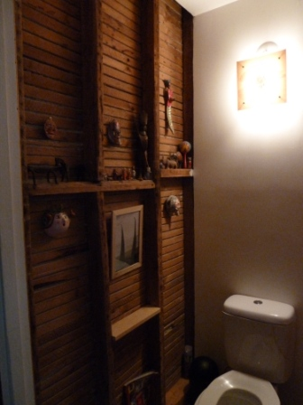 Id es d co pour vos toilettes d conome for Idee deco murale toilettes