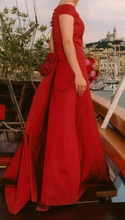 Ma robe de mariée rouge