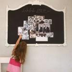 Photo du jour: transformer un miroir en pêle-mêle