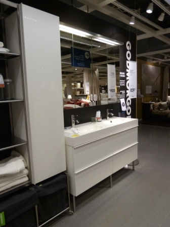Étagère Godmorgon laquée blanche IKEA