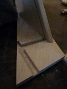 Monter escalier de bois