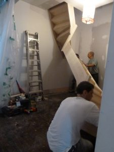 Monter escalier en bois