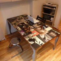La table baroque contemporaine d'Anna
