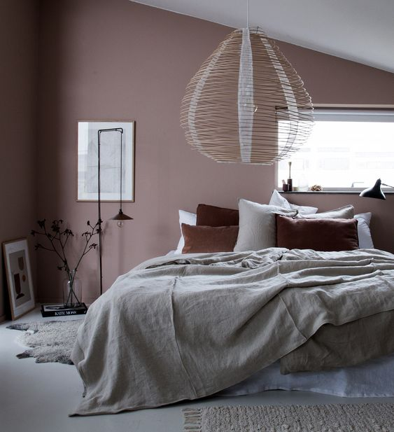 Bemz Loose Fit bedspread in Unbleached Rosendal linen
