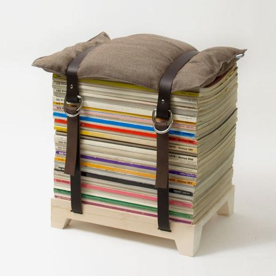 quoi faire de vos vieux magazines d conome. Black Bedroom Furniture Sets. Home Design Ideas