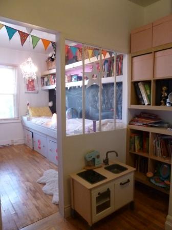 verrière intérieure chambre enfant