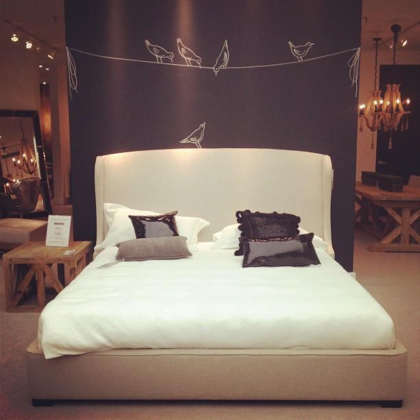 Chambre peinture tableau noir d conome - Tableau pour chambre romantique ...