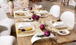 Les 20 plus beaux décors de tables de Noël