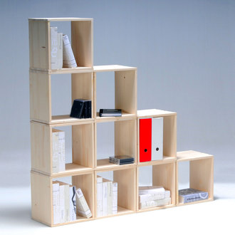 Biblioth ques modulaires pas ch res d conome - Bibliotheque cube ikea ...
