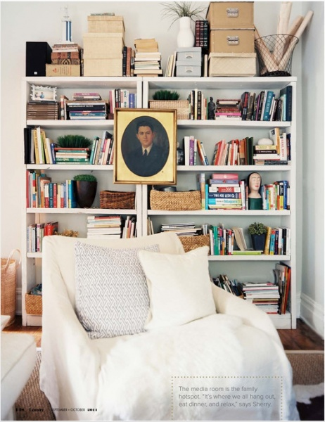 comment organiser et ranger une biblioth que d conome. Black Bedroom Furniture Sets. Home Design Ideas