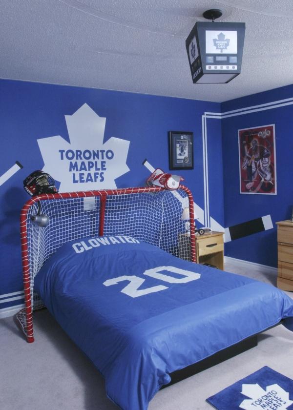 id es d co pour chambres d 39 enfants sportifs d conome. Black Bedroom Furniture Sets. Home Design Ideas
