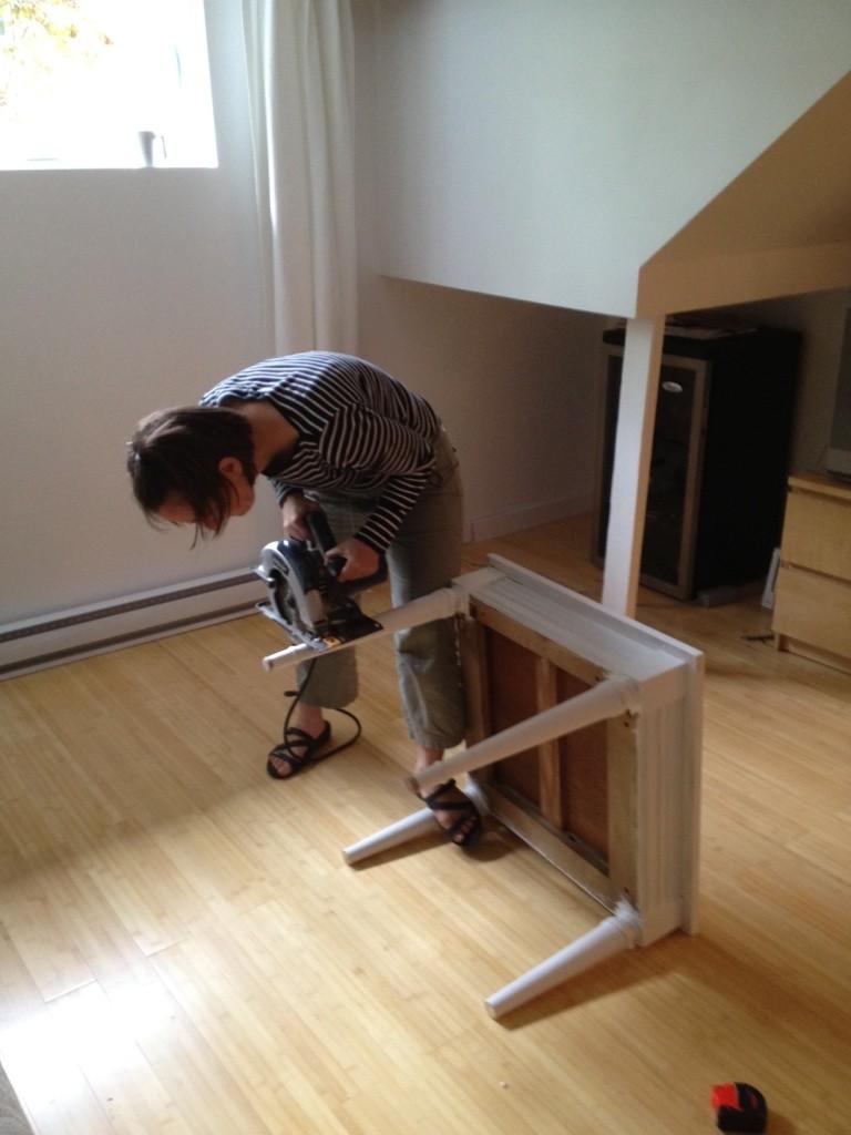 un sous sol relook dans un style boh me d conome. Black Bedroom Furniture Sets. Home Design Ideas