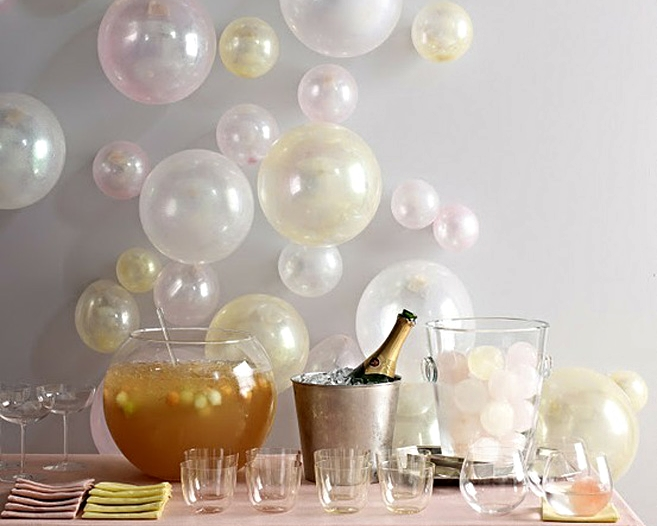 Id es d co originales pour le r veillon du nouvel an for Decoration reveillon nouvel an