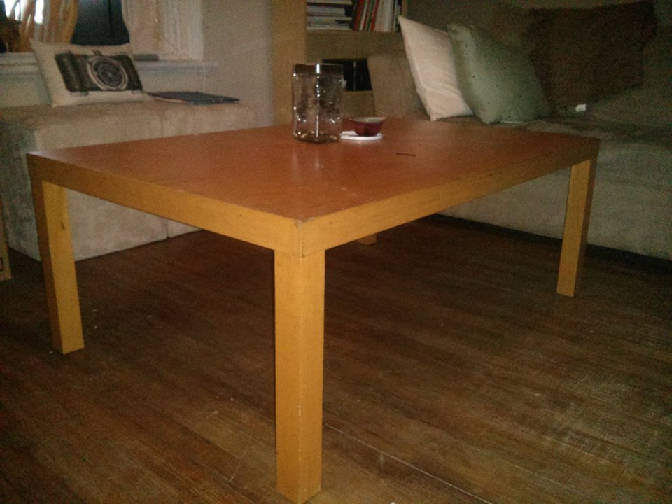 Renover table basse avant table basse style rustique table opium transformer le blog de sophie - Renover une table en bois en moderne ...