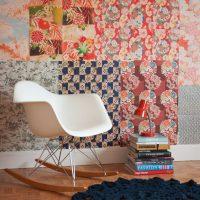 Déco murale facile avec feuilles de papier