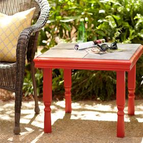 Atelier Home Dépôt - fabriquer une table d'appoint de jardin