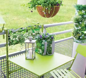 table petit balcon