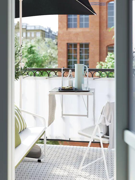 table petit balcon pas cher