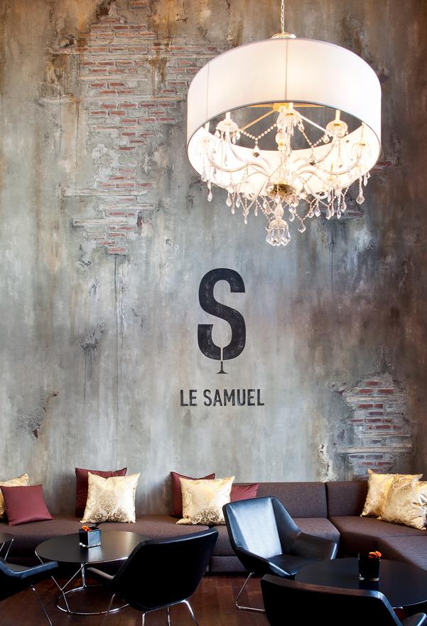 Crédit photo:  A2 Design - Bistrot Le Samuel de Champlain