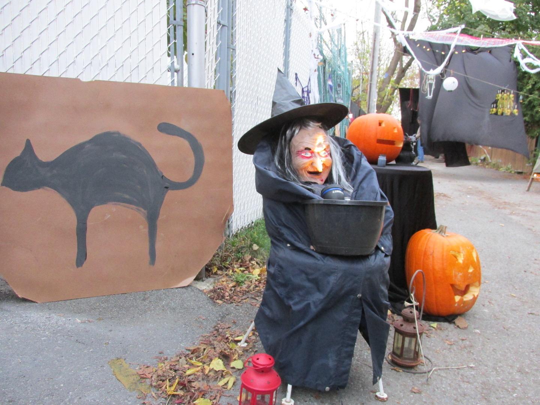 Idée déco halloween sorcière