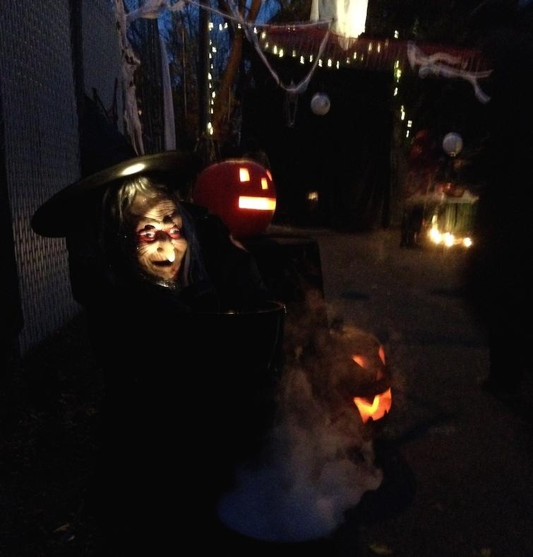 ruelle hantée halloween Villeray
