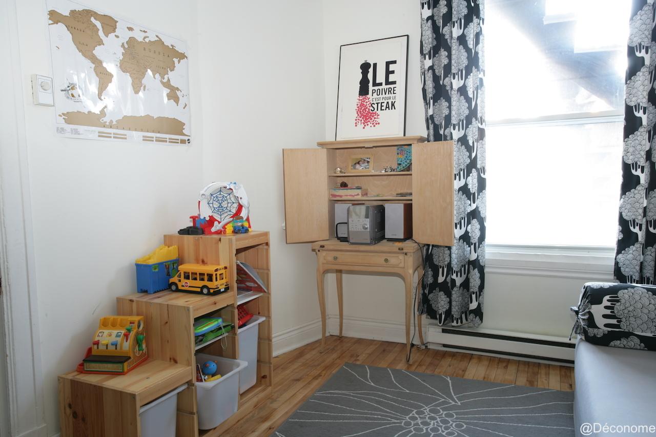 décoration chambre enfant Montréal