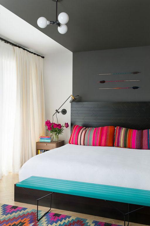 3 id es d co en bois color pour le chalet d conome. Black Bedroom Furniture Sets. Home Design Ideas