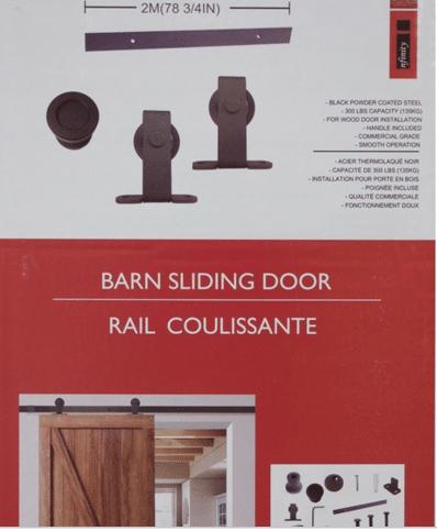 Quincaillerie De Porte Coulissante Style Grange Pas Chère Déconome