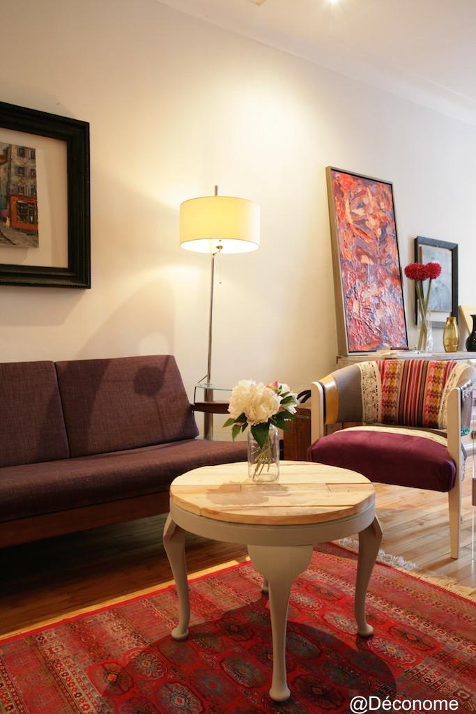 recouvrir une table basse en bois de palette d conome. Black Bedroom Furniture Sets. Home Design Ideas