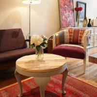 Recouvrir une table basse en bois de palette