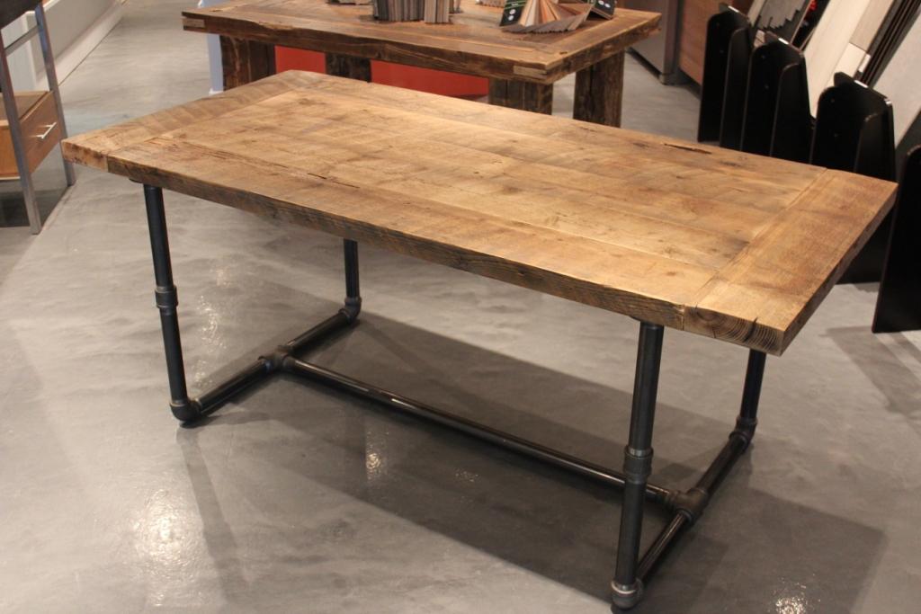 Tendance la d co en tuyaux d conome - Pietement de table design ...