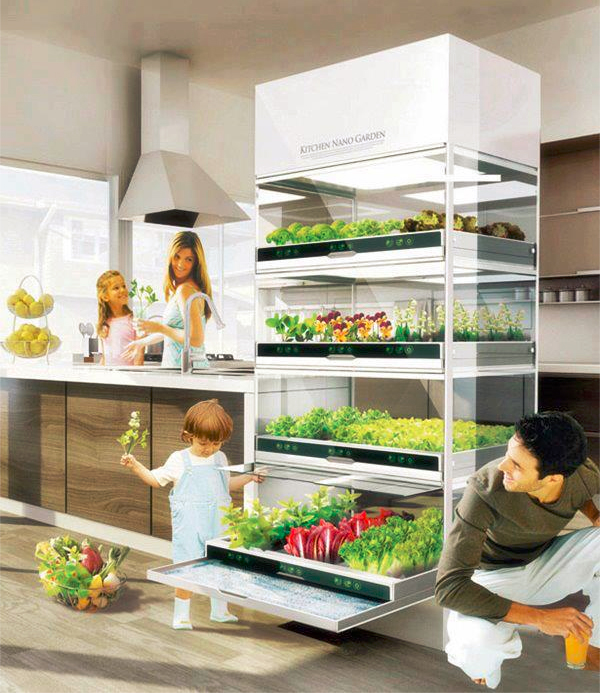 the  Kitchen Nano Garden  by Hyundai & Gromo t