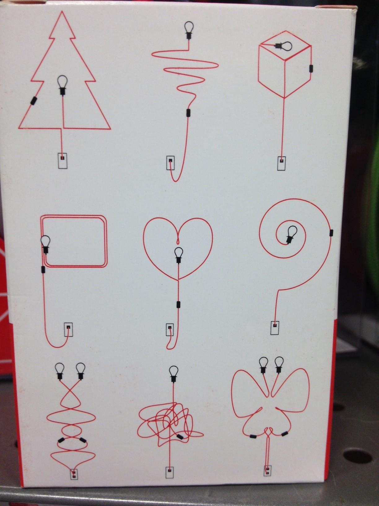 baladeuse motifs dessins mur