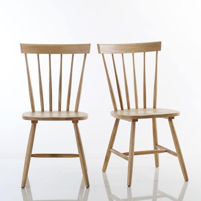 La REdoute* - Lot de 2 chaises - 170 Euros