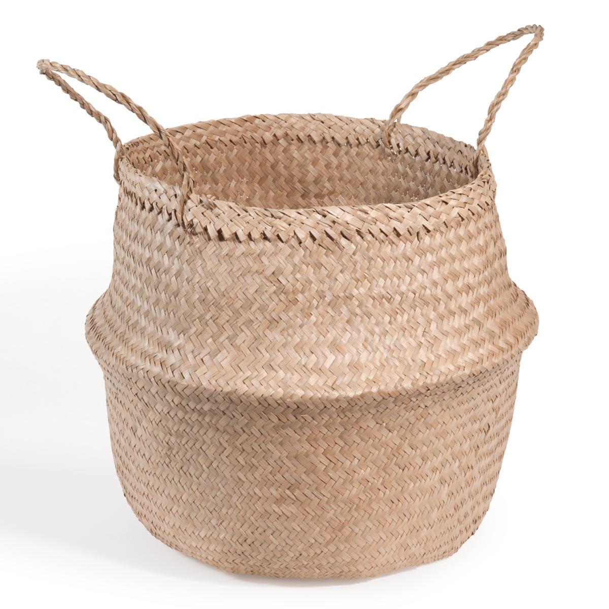 D co facile et pas ch re une plante dans un panier d conome for Deco maison du monde pas cher