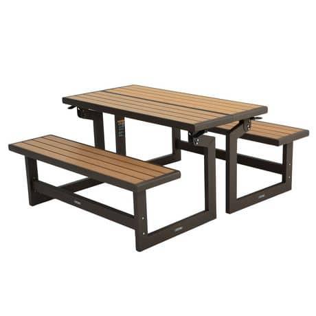 Wallmart - banc transformable en table - 174.97$