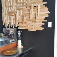 Un DIY de déco murale en bois pour moins de 20$