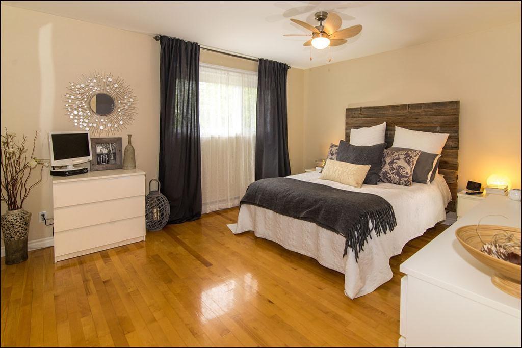 chambre tête de lit bois grange