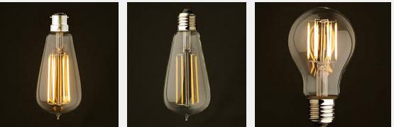 l 39 ampoule led edison vintage d conome. Black Bedroom Furniture Sets. Home Design Ideas