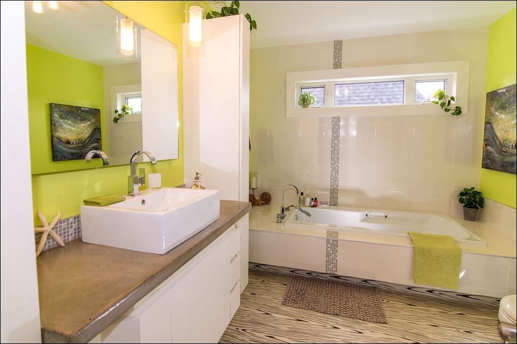 Une maison r nov e au complet avec ing niosit d conome - Renover salle de bain pas cher ...