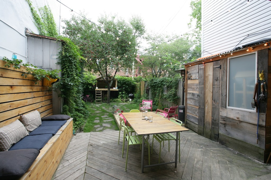 cour patio plateau mont royal