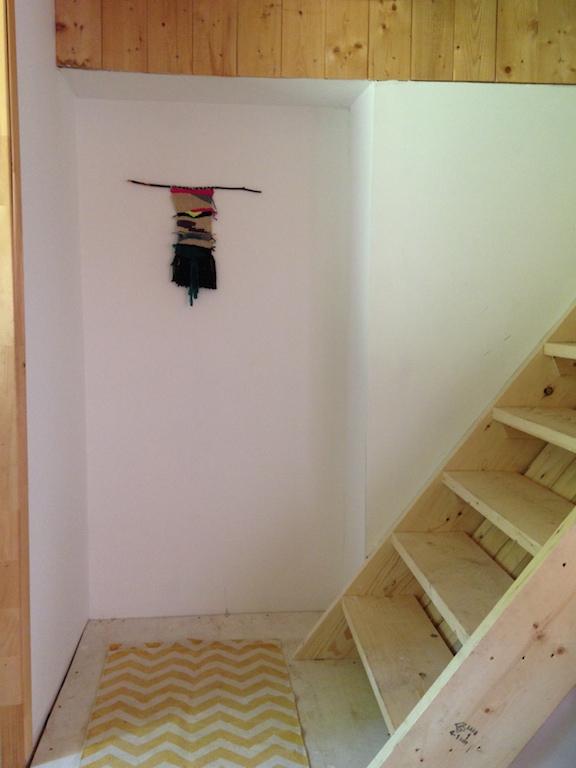 string art escalier