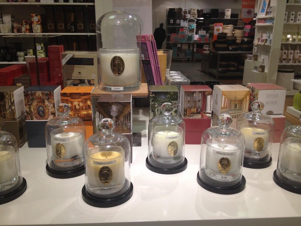 bougies château de versailles