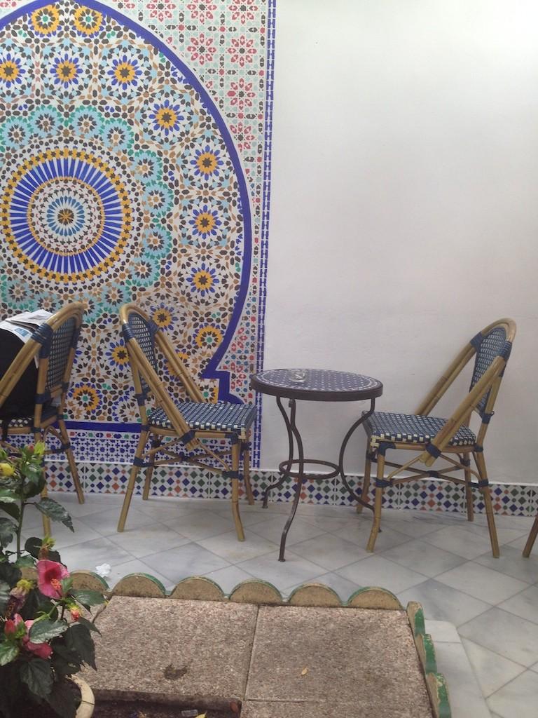 thé grande mosquée