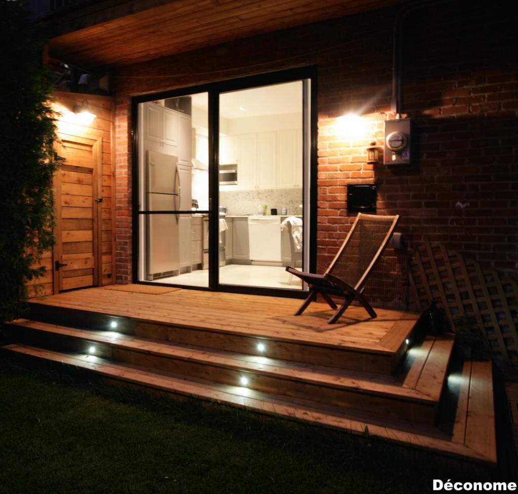 patio nuit kit lumières DEL