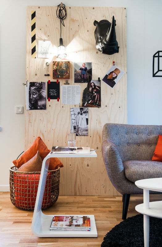 d co murale facile contreplaqu masking tape d conome. Black Bedroom Furniture Sets. Home Design Ideas