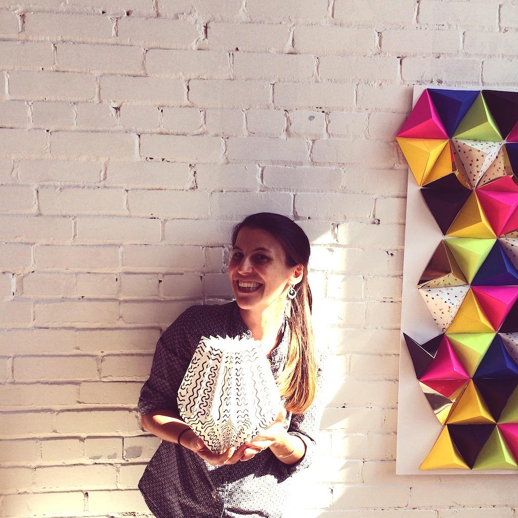 Atelier origami lampe