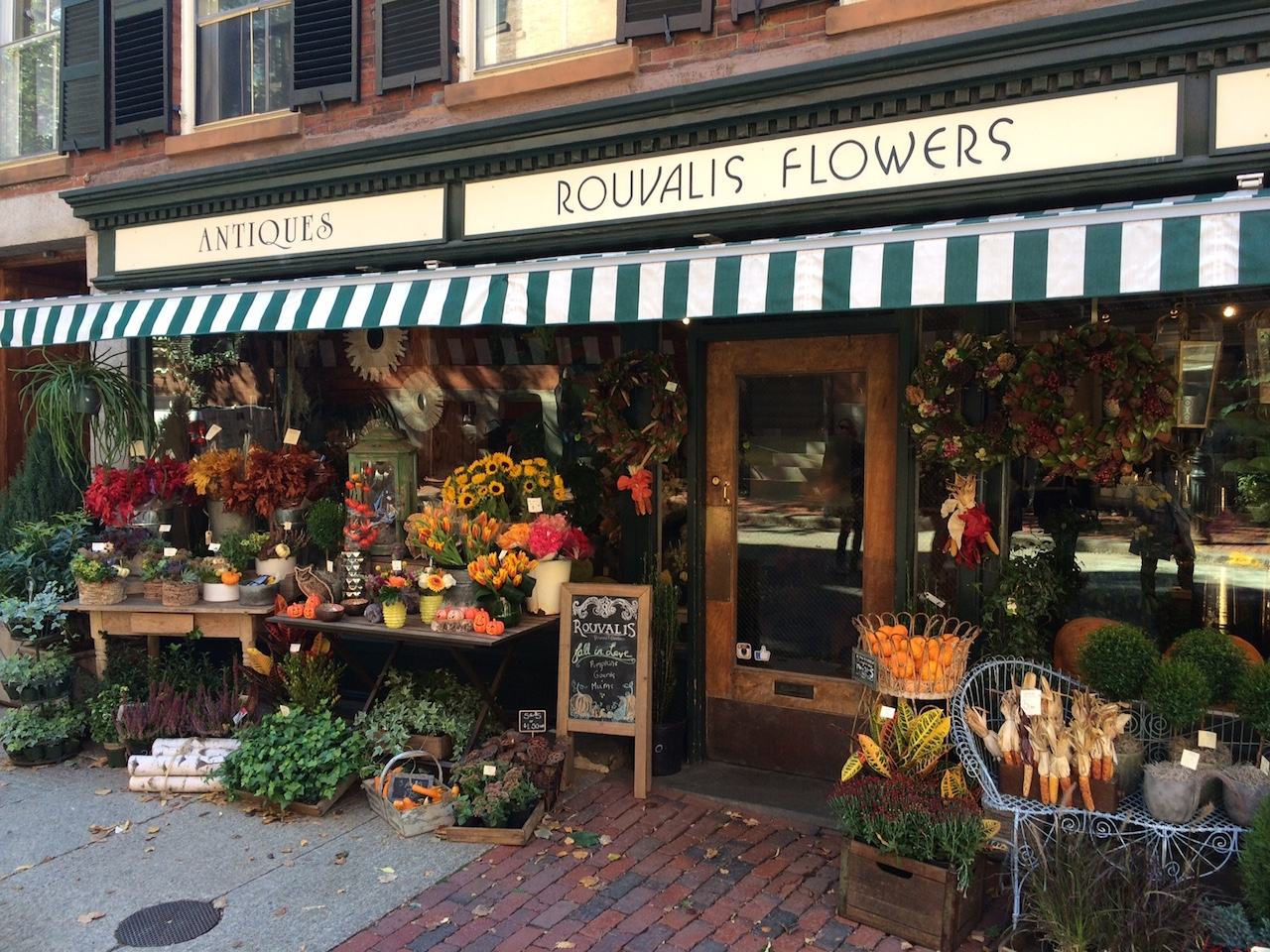 Fleuriste Beacon Hill Boston